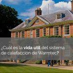 ¿Cuál es la vida útil del sistema de calefacción infrarroja de Warmtec?